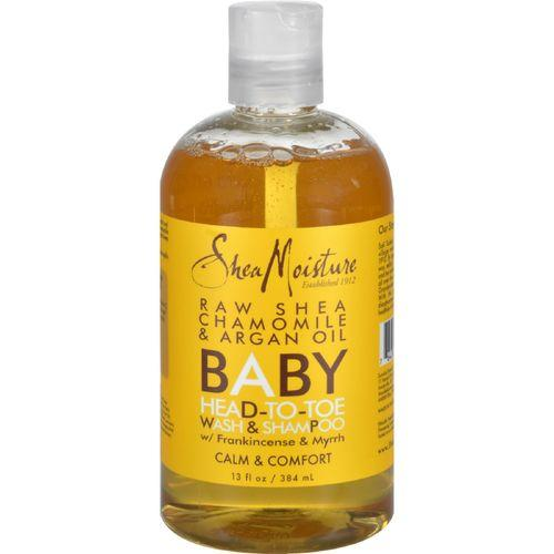 SheaMoisture Baby Head-To-Toe Wash and Shampoo Raw Shea Chamomile and Argan Oil - 12 fl oz