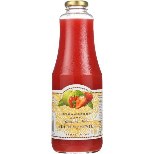 Fruit Of The Nile Nectar - Strawberry Guava - 33.8 oz - case of 6