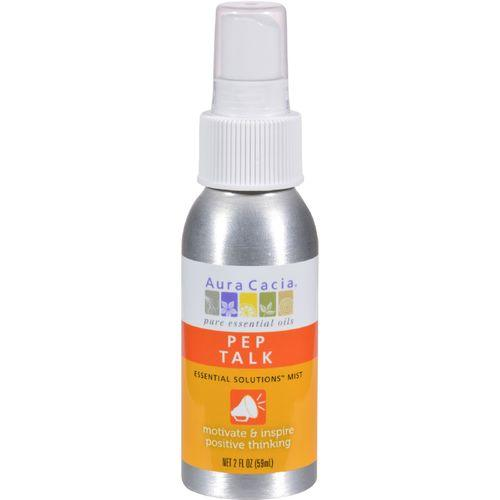 Aura Cacia Essential Solutions Mist Pep Talk - 2 fl oz