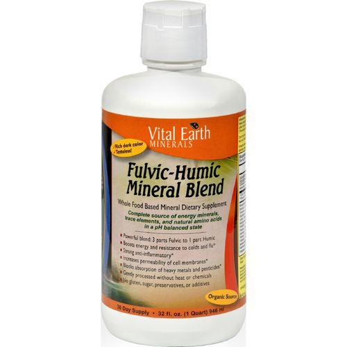 Vital Earth Minerals Fulvic-Humic Mineral Blend - 32 fl oz
