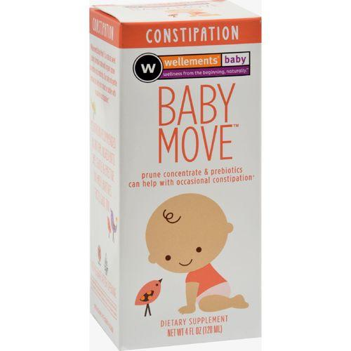 Wellements Baby Move Prune Concentrate with Prebiotics - 4 oz