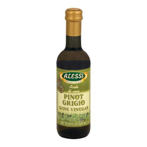 Alessi Wine Vinegar - Pinot Grigio - Case of 6 - 12.75 FL oz.