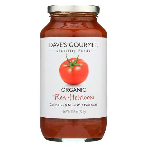 Dave's Gourmet Organic Red Heirloom Pasta Sauce - 25.5 FL oz.