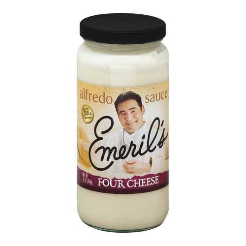 Emeril Alfredo Sauce - Four Cheese - 16 Fl oz.