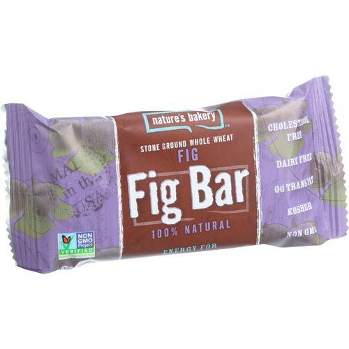 Nature's Bakery Stone Ground Whole Wheat Fig Bar - Original - Case of 12 - 2 oz.