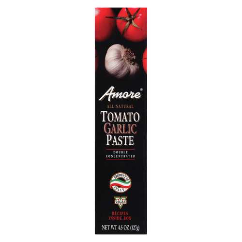 Amore Tomato Garlic Paste - Case of 12 - 4.5 oz