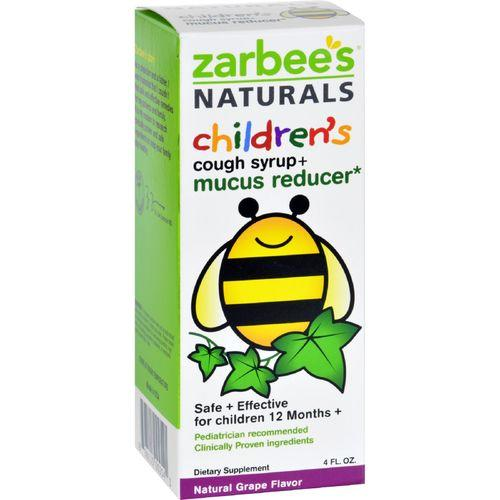 Zarbee's Naturals Children's Mucus Relief + Cough Syrup - Grape - 4 oz