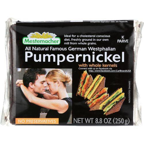 Mestemacher Bread Bread - Westphalian Classic - Pumpernickel - 8.8 oz - case of 11