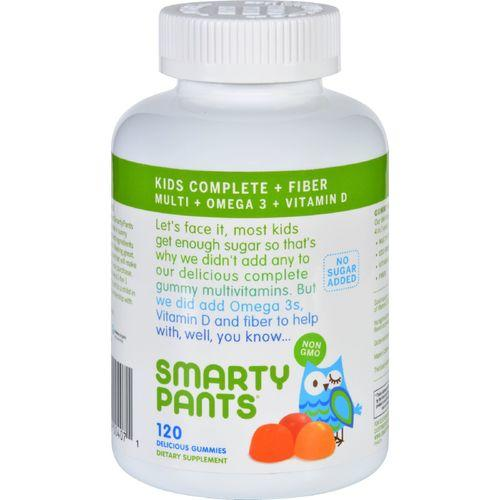SmartyPants Multivitamin - Kids Complete and Fiber Gummy - 120 count