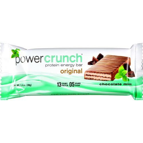 Power Crunch Protein Bars - Chocolate Mint Original - 40 grm - Case of 12