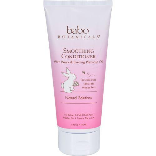 Babo Botanicals Detangling Conditioner - Instantly Smooth Berry Primrose - 6 oz