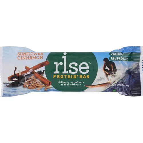 Rise Protein Plus Bar - Sunflower Cinnamon - 2.1 oz - Case of 12