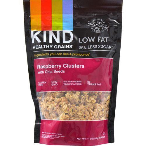Kind Clusters - Granola - Healthy Grains - Raspberry with Chia Seeds - 11 oz - Case of 6