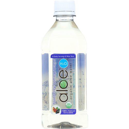 Lily Of The Desert Aloe H2O - Organic - Blueberry-Pomegranate - Gluten Free - 16.9 oz - case of 12