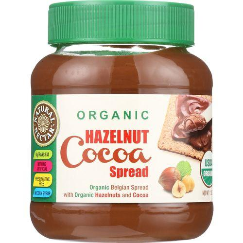 Natural Nectar Spread - Organic - Hazelnut Cocoa - 13 oz - case of 12