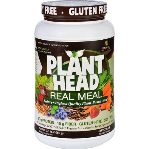 Genceutic Naturals Plant Head Real Meal - Chocolate - 2.3 lb