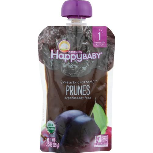 Happy Baby Happy Baby Clearly Crafted - Apples - Kale and Avocados - Case of 16 - 3.5 oz.