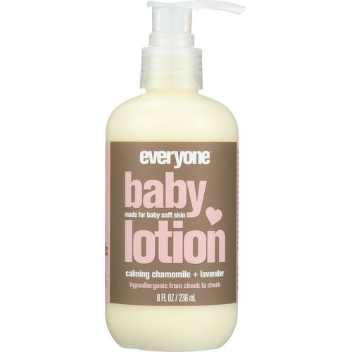 Baby lotion and oil