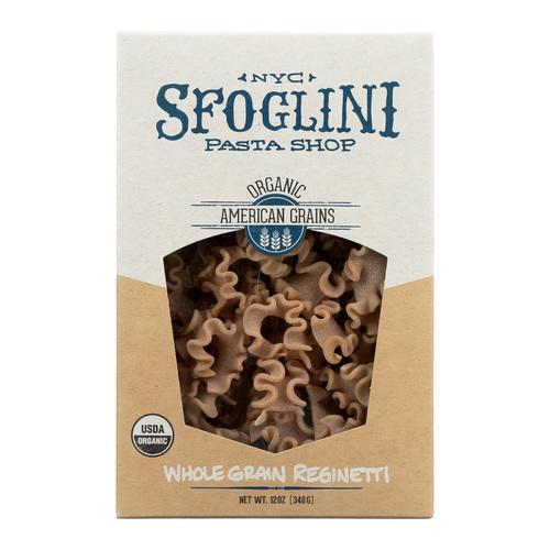 Sfoglini Whole Grain Blend Reginetti - Case of 6 - 12 oz.