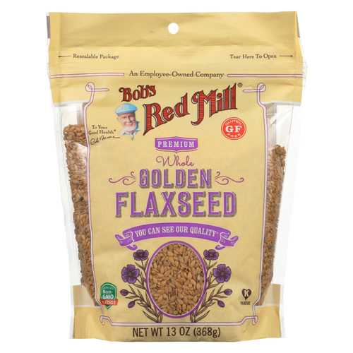 Bob's Red Mill Flaxseeds - Golden - Case of 6 - 13 oz
