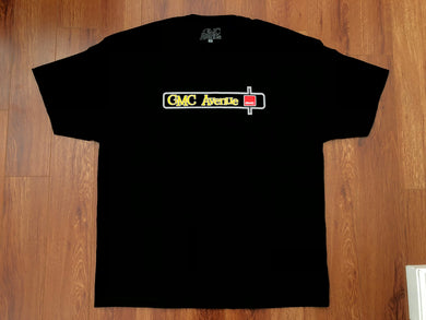 GMC AVE DASH BADGE BLACK T-SHIRT