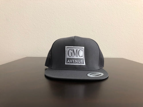 GMC AVE LOGO CHARCOAL HAT CHARCOAL STITCHING