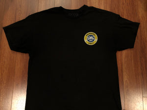 GMC AVE MEMBERS ONLY BLACK T-SHIRT