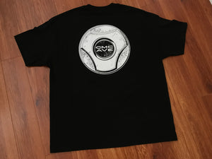 GMC AVE HUBCAP BLACK T-SHIRT
