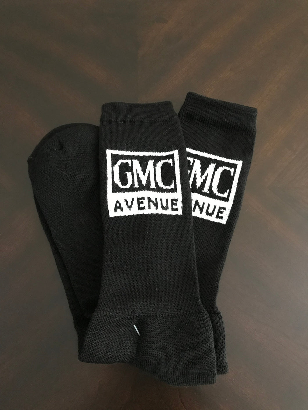 GMC AVE CREW SOCK BLACK