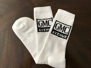 GMC AVE CREW SOCK WHITE