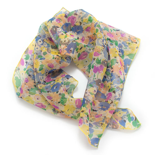 1960s Field of Flowers Bandana - Knickers & Whiskey