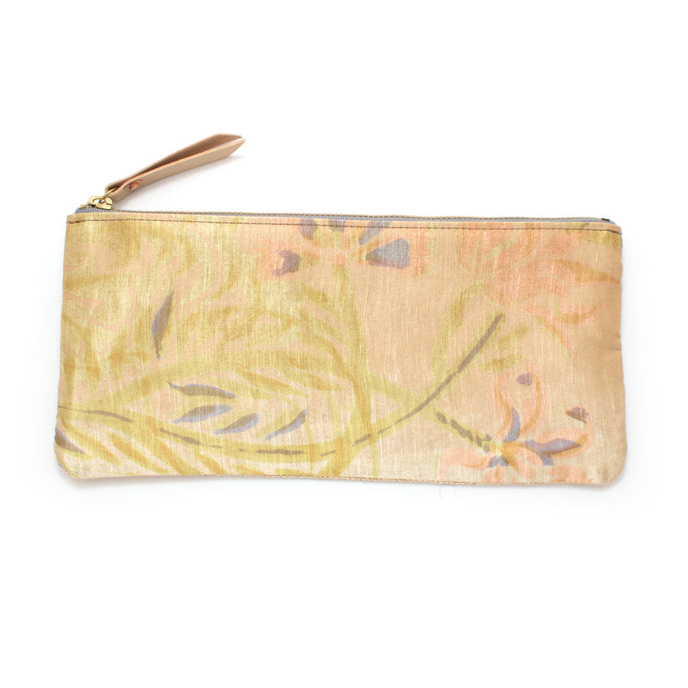 Vintage Brushstroke Floral Envelope Pouch - Knickers & Whiskey