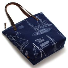 Shipyard Blueprint Portfolio Tote - Knickers & Whiskey