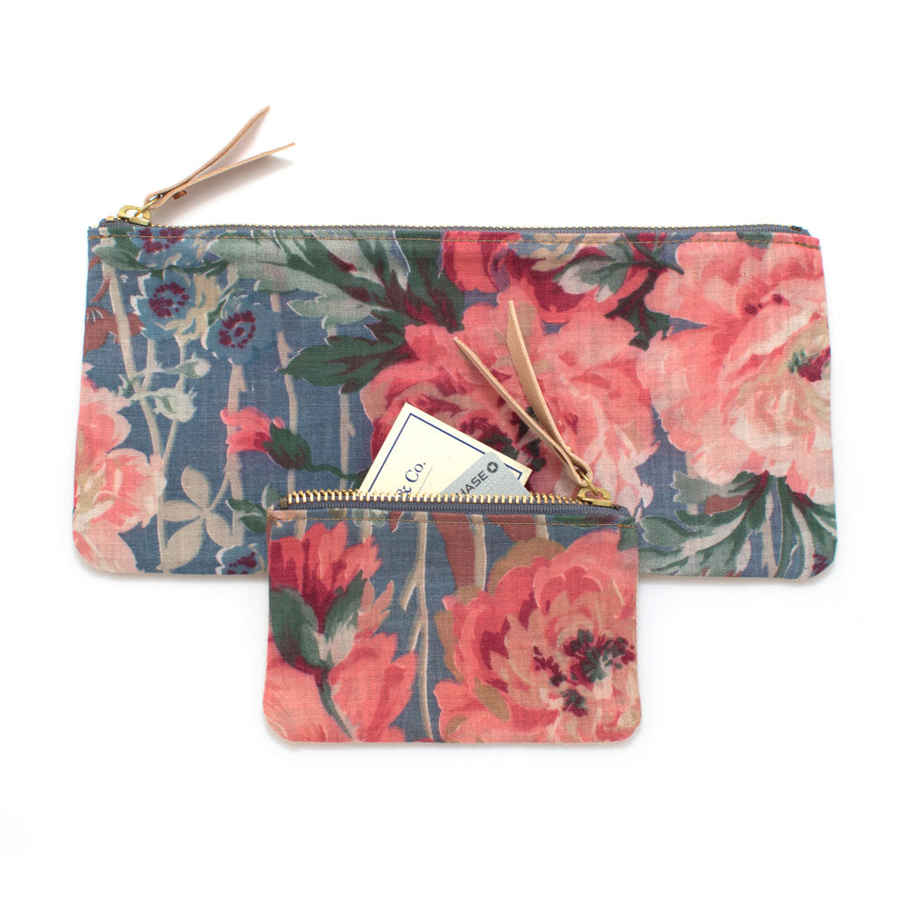 1920s Arles Floral Pouch Set - Knickers & Whiskey