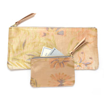Vintage Brushstroke Floral Pouch Set - Knickers & Whiskey