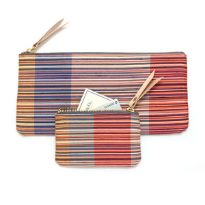 1970s Como Stripe Pouch Set - Knickers & Whiskey