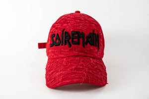 SOÍREMAÍN - RED CAP/BLACK LOGO