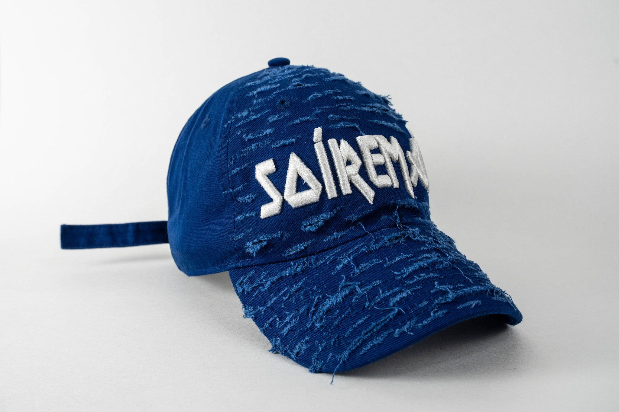 SOÍREMAÍN - ROYAL BLUE CAP/WHITE LOGO