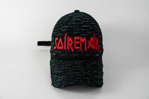 SOÍREMAÍN - BLACK CAP/ RED LOGO