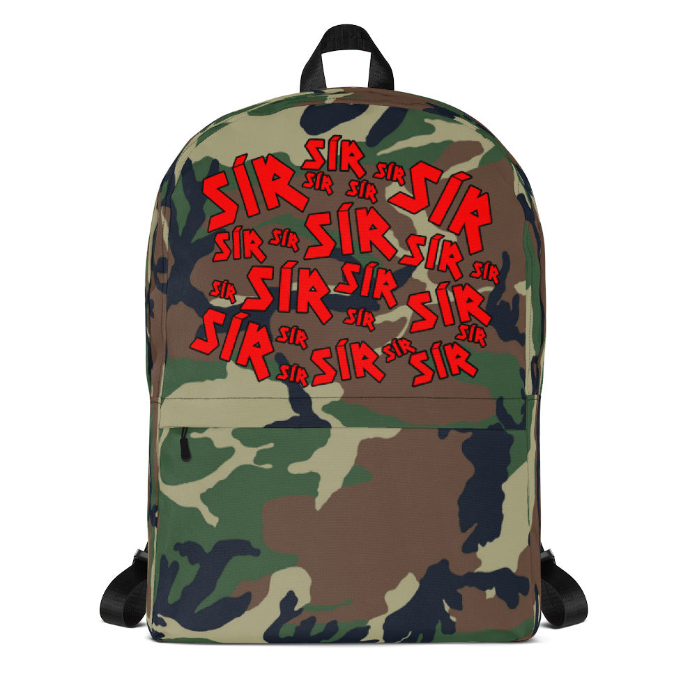 SOÍREMAÍN CAMO Backpack