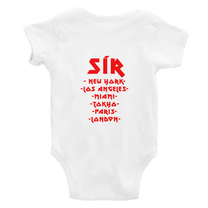 SOÍREMAIN - INFANT BODYSUIT RED CITIES