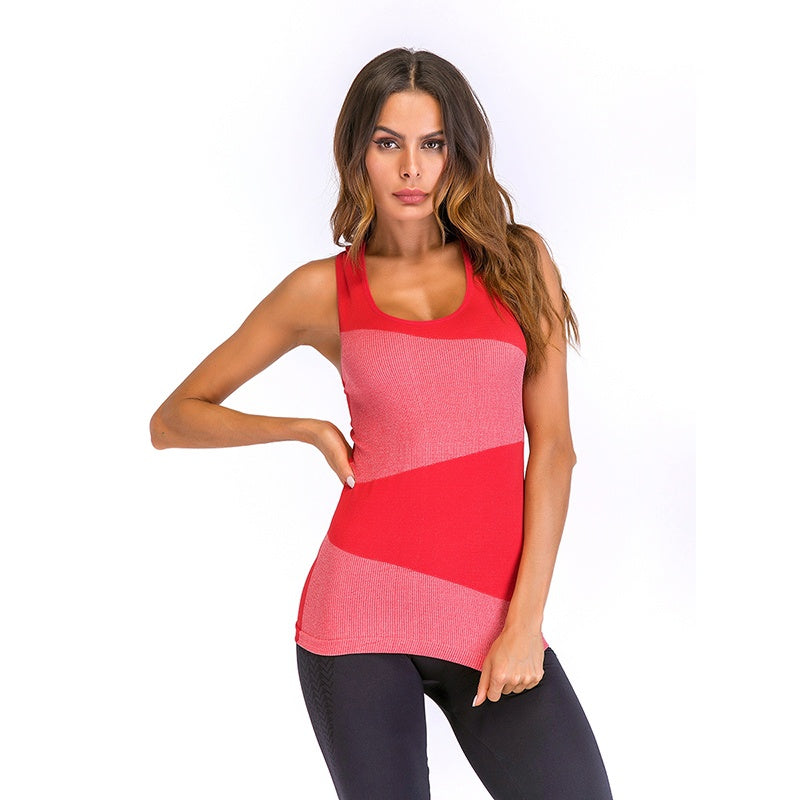 9f1e319bc379e Summer Tight Fitness Clothes Women Tank Tops Slim Workout Sleeveless Quick  Dry Vest For Women Tank