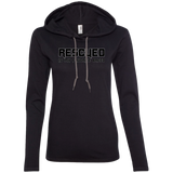 RESCUED IS MY FAVORITE BREED - Black - Premium Ladies Hoodie - Save Adopt Love Apparel