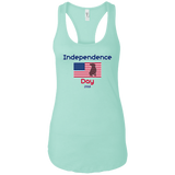 Independence Day 2018 Women's Premium Racerback Tank - Save Adopt Love Apparel