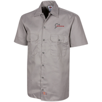 Deutsch Car Club - Men's Dickies Short Sleeve Embroidered Workshirt