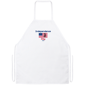 Independence Day 2018 Pit Bull Apron - Save Adopt Love Apparel