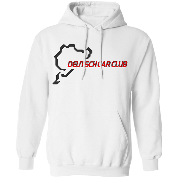 Deutsch Car Club - Gildan Unisex Heavyweight Pullover Hoodie (Front Logo)