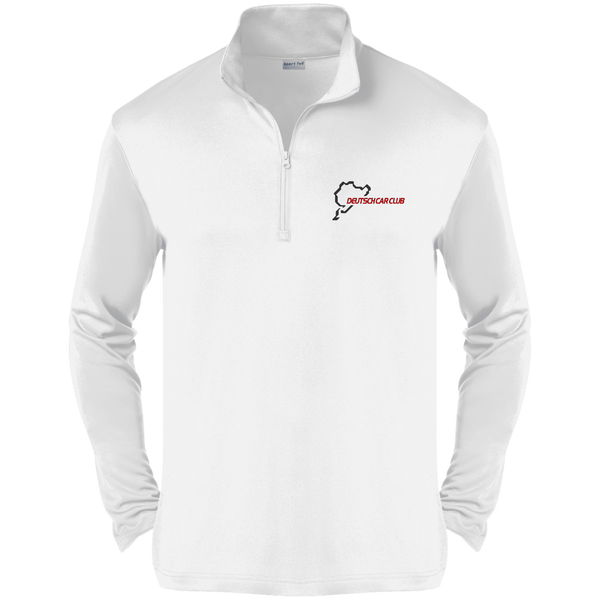 Deutsch Car Club - Sport Tek PosiCharge Competitor 1/4-Zip Embroidered Pullover