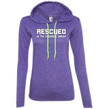 RESCUED IS MY FAVORITE BREED - White - Premium Ladies Hoodie - Save Adopt Love Apparel