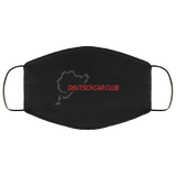 Deutsch Car Club - Moisture-Wicking Anti-Microbial Face Mask